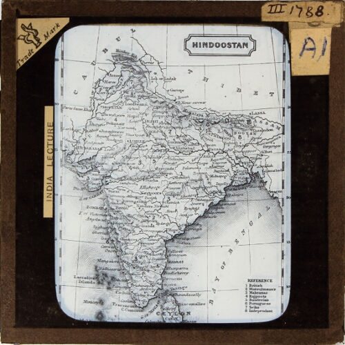 Introduction -- Map of India