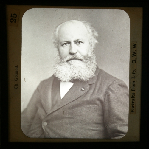 Slide showing Charles Gounod (1818-93)