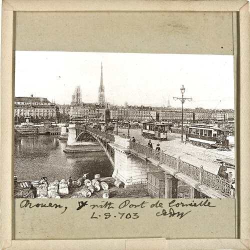 Rouen, with Pont Corneille