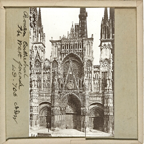 Rouen Cathedral, The West Façade