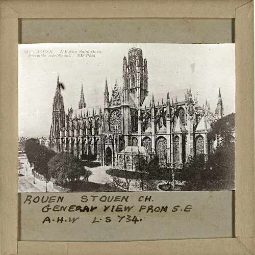 Rouen, St Ouen Church, General View from S.E.