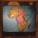 Africa -- Map, to show the routes of modern explorers