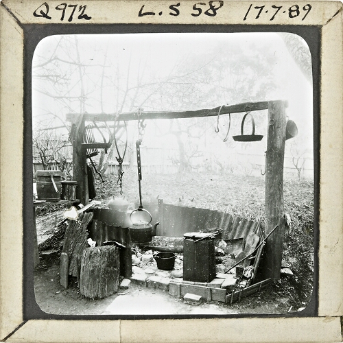 Colonial Life, Open Air Fireplace