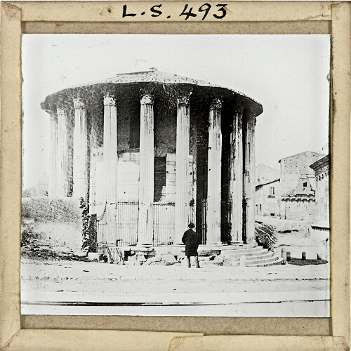 Rome, Temple of Vesta and House of Rienza